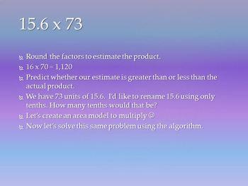 Eureka Math/EngageNY 5th Grade Module 2 Lesson 10