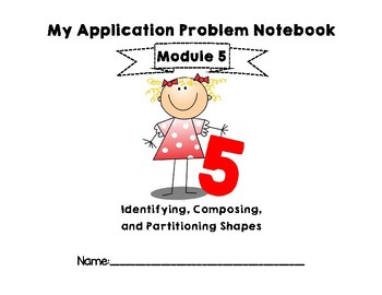 Eureka Math/EngageNY Application Problem Notebook for First Grade Module 5