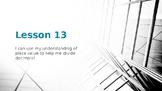 Eureka Math/EngageNY Grade 5 Module 1 Lesson 13