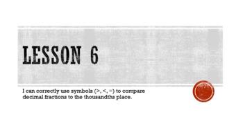 Eureka Math/EngageNY Grade 5 Module 1 Lesson 6