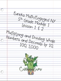 Eureka Math/Engaged NY 5th Grade Module 1 Lessons 1 & 2 Worksheet