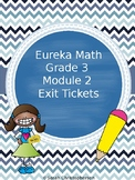 Eureka Math Grade 3 Exit Tickets Module 2