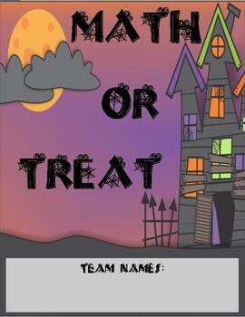 """Eureka Math First Grade Halloween """"Math-or-Treat"""" Activity"""