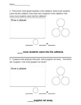 Eureka Math Grade 1 Module 1 Assessment Elementary Mathematic Worksheets Primary