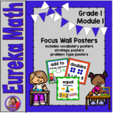 Eureka Math Grade 1 Module 1 - Focus Wall Posters