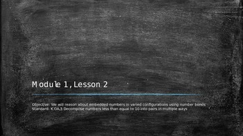 Eureka Math Grade 1, Module 1, Lesson 2