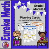 Eureka Math Grade 1 Module 1 - Planning Cards