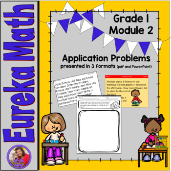 Eureka Math Grade 1 Module 2 - Application and Concept Development Problems