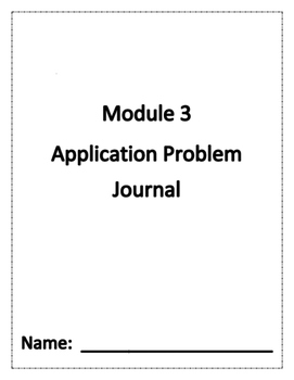 Eureka Math Grade 1 Module 3 Application Problem Journal