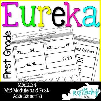 Eureka Math Grade 1 Module 4 Assessments