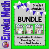 Eureka Math Grade 1 Module 4 BUNDLE Resources for organizi
