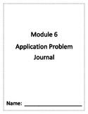 Eureka Math Grade 1 Module 6 Application Problem Journal