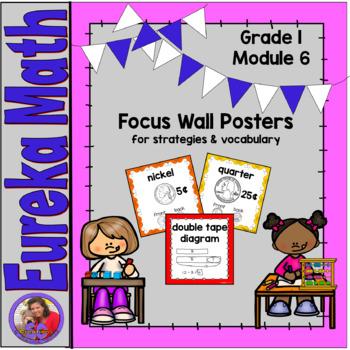 Eureka Math Grade 1 Module 6 - Focus Wall Posters