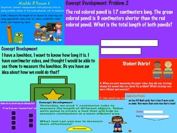 Eureka Math Grade 2 Module 2 Lessons 1-10