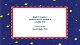 Eureka Math/Engage NY Great Minds Grade 2 Module 4 Lesson Plans