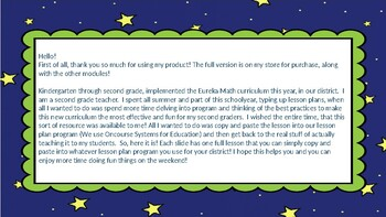 Eureka Math/Engage NY Great Minds Grade 2 Module 5 Lesson Plans