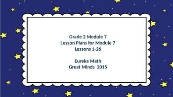 Eureka Math/Engage NY Great Minds Grade 2 Module 7 Lesson Plans