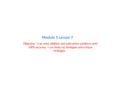 Eureka Math Grade 2 Module 5 Lesson 7 powerpoint