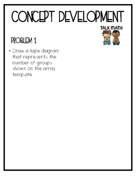Eureka Math Grade 3 Mod 1 Lesson 14 Guided Notes
