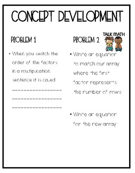 Eureka Math Grade 3 Mod 1 Lesson 8 Guided Notes