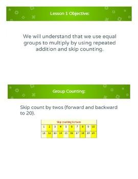 Eureka Math - Grade 3 - Module 1 - Topics A, B, and C Lesson Presentations