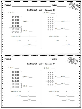 Eureka Math Engage NY Grade 3 Module 1 Exit Tickets