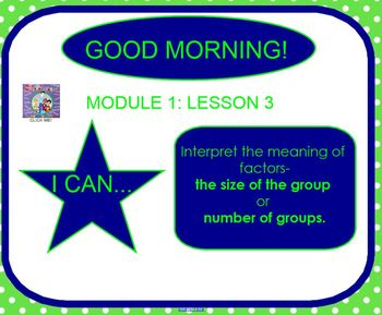 Eureka Math Grade 3 Module 1 Lesson 3