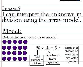 Eureka Math Grade 3 Module 1 Lesson 6