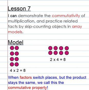 Eureka Math Grade 3 Module 1 Lesson 7