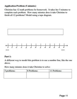 Eureka Math Grade 3 Module 2, Lessons 1 - 10