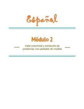 Eureka Math - Grade 3 - Module 2 Mid Module Assessment Review Spanish (Espanol)