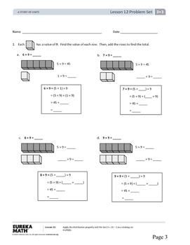 Eureka Math Grade 3 Module 3, Lessons 12-21