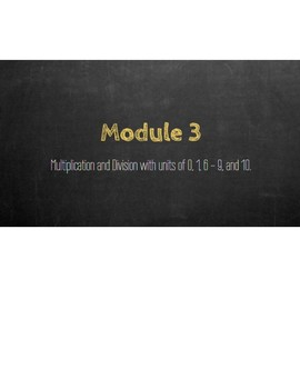 Eureka Math - Grade 3 - Module 3 MMA Review Bilingual with Modifications