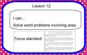 Eureka Math Grade 3 Module 4 Lesson 12