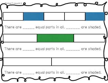 Eureka Math Grade 3 Module 5 Lesson 1-4 Activity Sheets