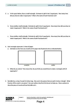 Eureka Math Grade 3 Module 5, Lessons 1 - 11