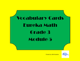 Eureka Math Grade 3 Module 5 Vocabulary Cards