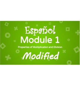 Eureka Math - Grade 3 - Modules 1 EMA Review Bilingual with Modifications