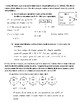 Eureka Math - Grade 3 - Modules 3 End of Mod Assessment Review Spanish/English