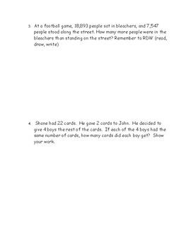 Eureka Math Grade 4 Module 1 End of Module Assessment