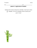 Eureka Math Grade 4 Module 6 Application Problems
