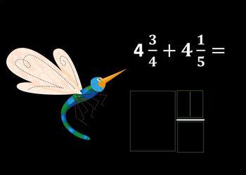 Eureka Math Grade 5 Module 3 Lesson 10 Adding Fractions Digital Boom Cards