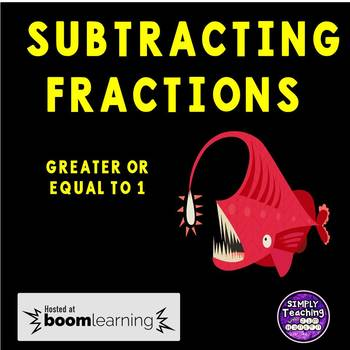 Eureka Math Grade 5 Module 3 Lesson 12 Subtracting Fractions Digital Boom Cards