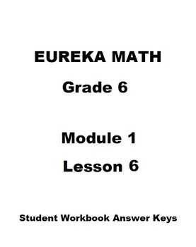 Module 3 Math Grade 6 Worksheets & Teaching Resources   TpT