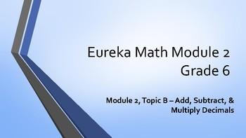 Eureka Math Grade 6 Module 2 Topic B Student Notes PowerPoint