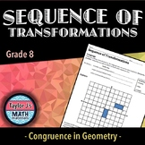 Sequence of Transformations - Translations and Reflections