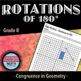 Rotations of 180° Worksheet
