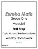 Eureka Math Grade One Module 1 Homework Test Prep