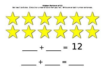 Eureka Math Kindergaren Partner Games