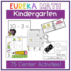 Eureka Math Kindergarten Centers GROWING BUNDLE